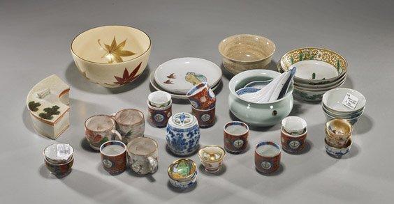 5: Group of Various Japanese Dishware