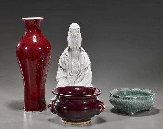 22: Four Various Chinese Porcelains