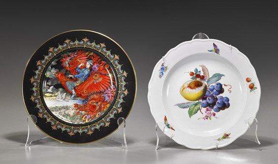 Two Porcelain Collectors' Plates