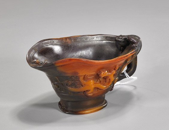 Rhino-Like Composition Libation Cup