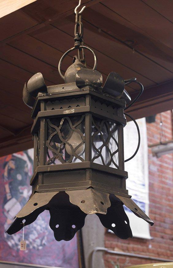 Japanese-Style Hanging 'Lotus' Lantern