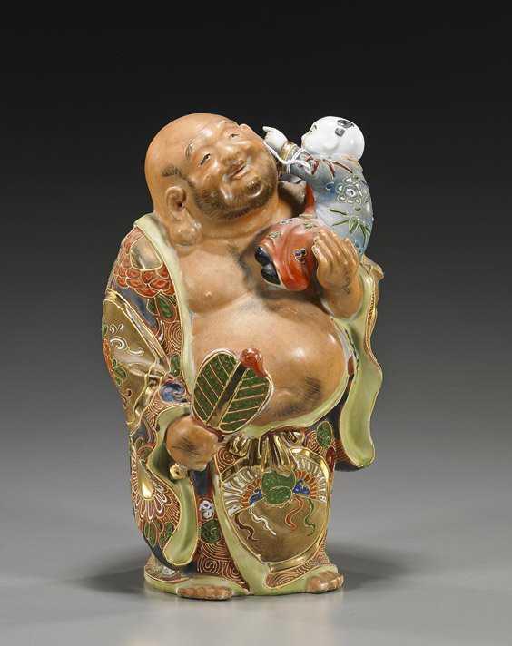 Vintage Japanese Figure netsuke style Japanese sculpture