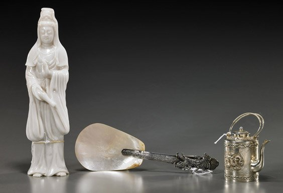 Group of Three Various Asian Items