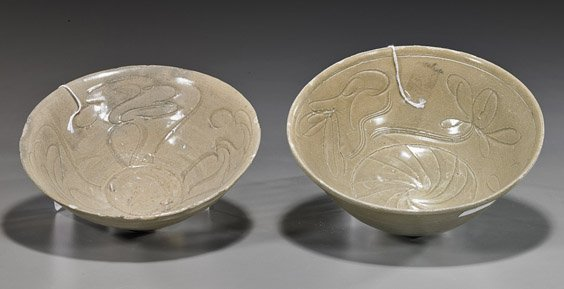 Two Song/Yuan Dynasty Glazed Bowls