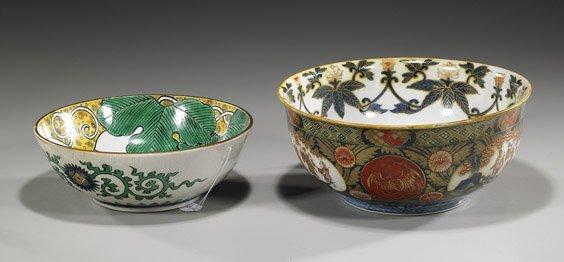 Two Antique Japanese Porcelain Bowls