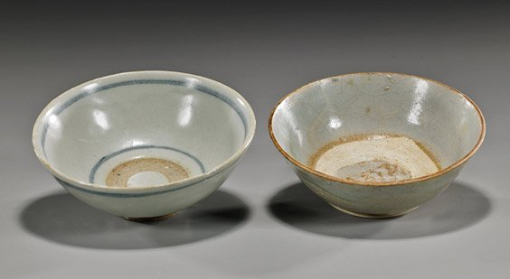 Two Early Chinese Glazed Bowls