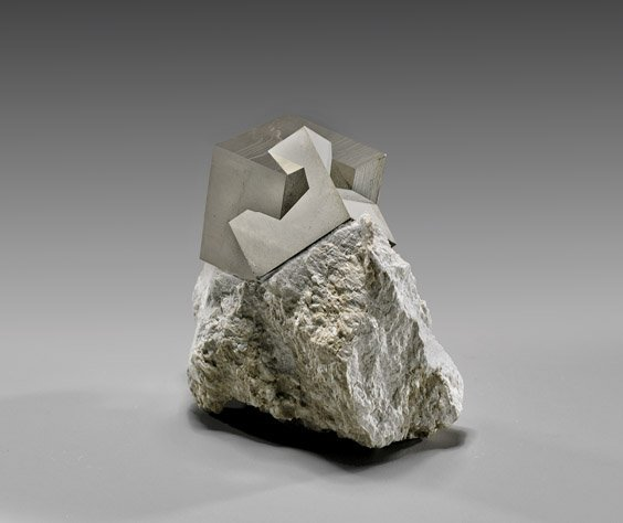 TWIN PYRITE CRYSTAL CUBES