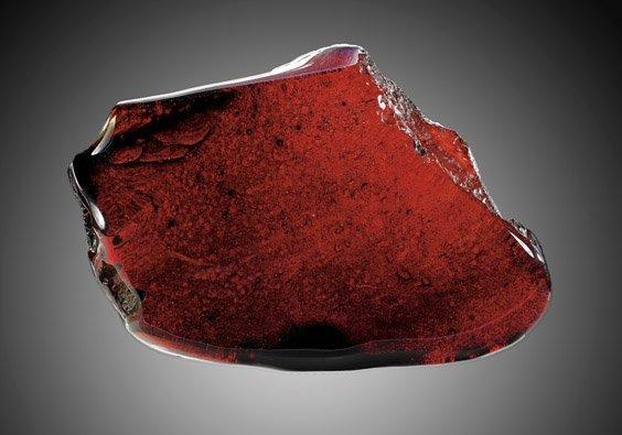 RARE RED AMBER