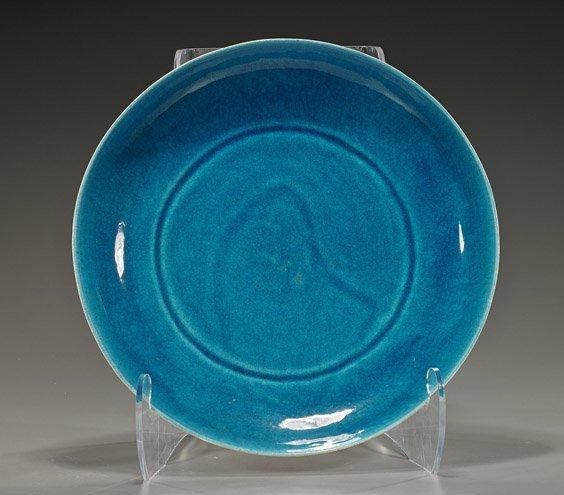 Large California Glazed Art Pottery Dish