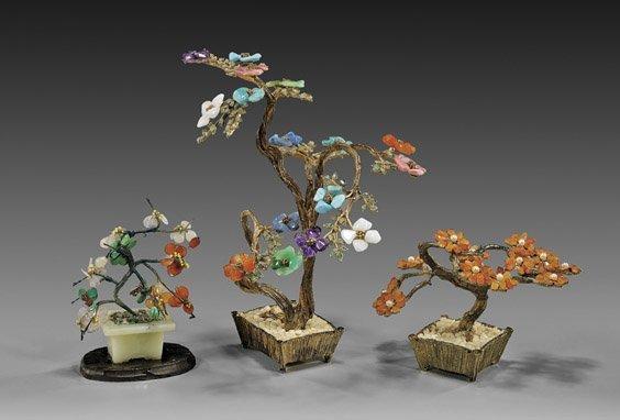 "Group of Three Various ""Jade Trees"""