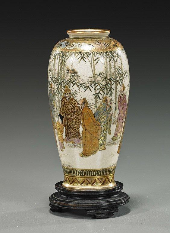 Early 20th Century Japanese Satsuma Vase