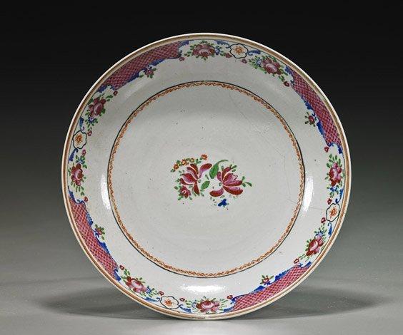 18th Century Export Porcelain Dish
