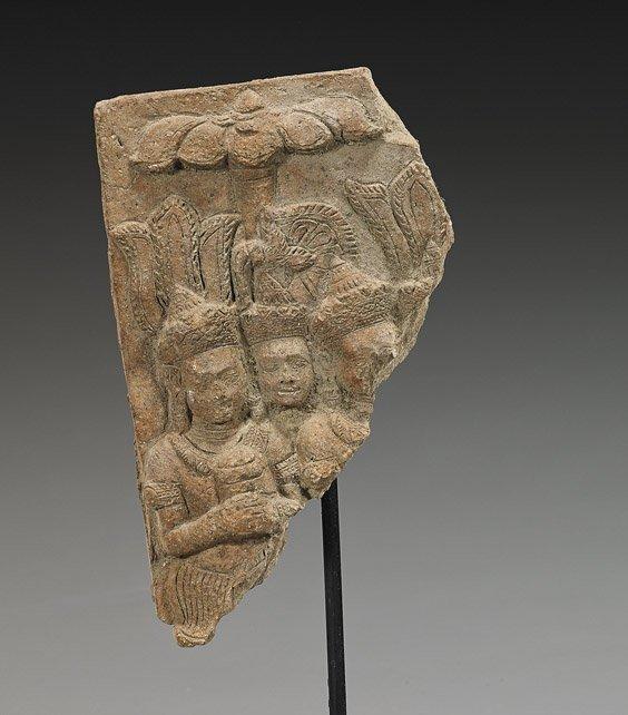 Antique Southeast Asian Terracotta Fragment