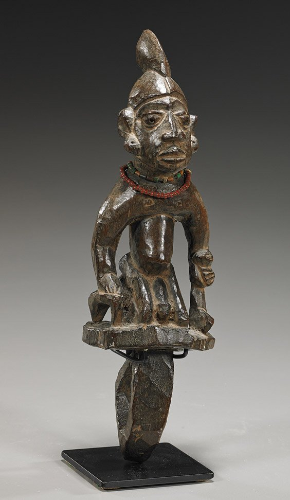 Old African Carved Wood Figure