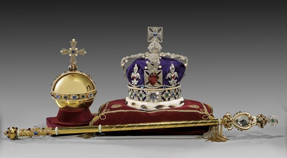 Replicas Of The British Crown Jewels Crown Orb Amp Scep