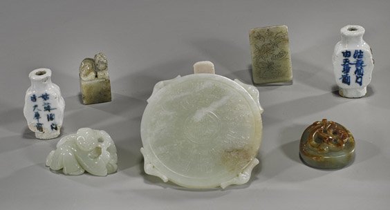 Group of Eight Various Chinese Items