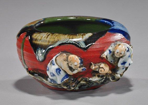 Small Japanese Sumidigawa Glazed Bowl