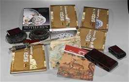 Seventeen Various Items: Books, Stands & Bayonette