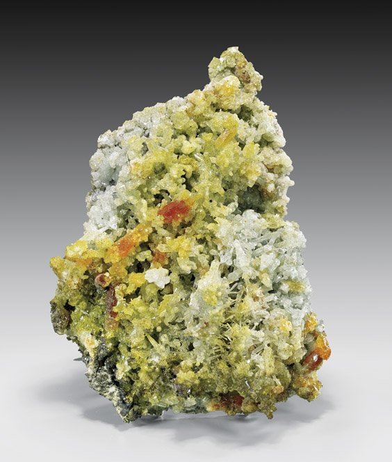 NATURAL ZINCITE CRYSTALS