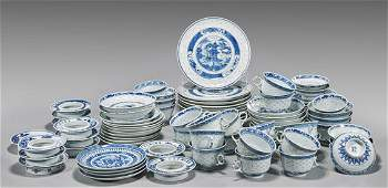 Eighty-Eight Chinese Export Porcelain Dishes