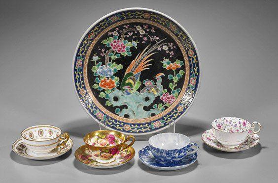 Seven Old & Antique Porcelains
