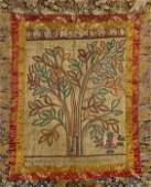 Two Tibetan Linen Thangkas Root Tantra  Vajrapani