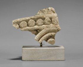 Near Eastern Limestone Fragment
