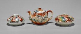 Three Antique Japanese Porcelains