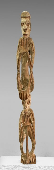 Antique New Guinea Asmat Ancestral Carving