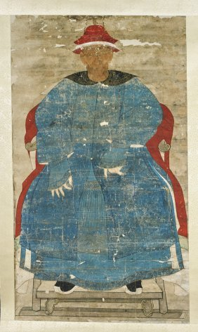 Chinese Ancestral Portrait Painting
