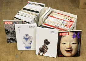 Collection Of Asian Auction Catalogs & Magazines