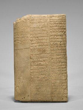 Museum Replica Cuneiform Medical Tablet