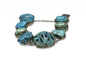 Antique Egyptian Faience Bracelet