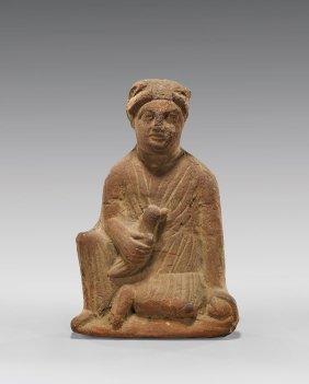 Cypriot Terracotta Figure