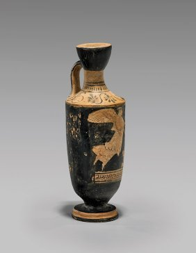 Attic Red-figure Lekythos: Nike