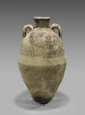 Massive Greek Terracotta 'pithos' Jar