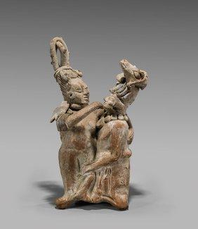 Pre-columbian Mayan Jaina-style Couple