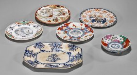 Six Various Porcelain Dishes