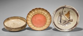Three Chinese & Japanese Ceramic Bowls