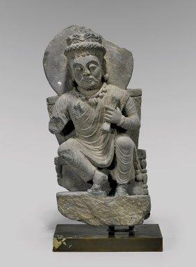 Gandharan Carved Stone Bodhisattva
