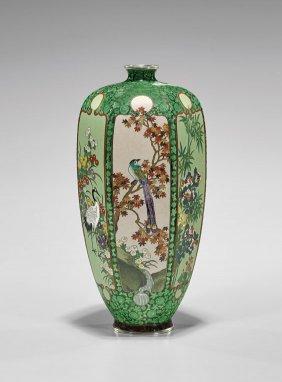 Antique Japanese CloisonnÉ Vase