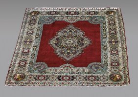 Persian Kerman Wool Rug