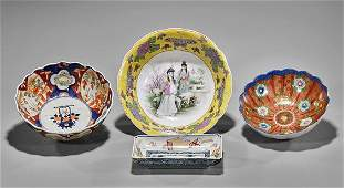 Four Chinese  Japanese Porcelain Bowls
