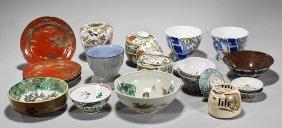 Twenty Old & Antique Mostly Japanese Porcelains