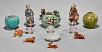 Thirteen Various Chinese Items