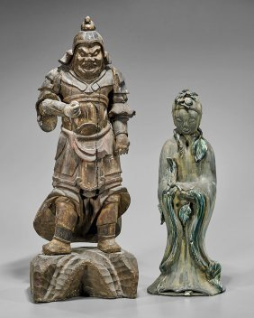 Two Standing Figures: Lady & Warrior