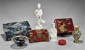 Eight Various Chinese & Japanese Items