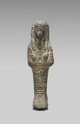 Egyptian-style Carved Stone Ushabti