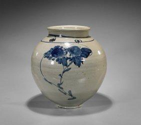 Large Yi-style Stoneware Jar