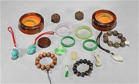 Eighteen Chinese Jewelry Items